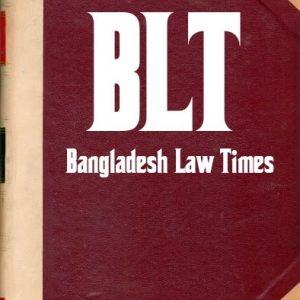 BLT Bangladesh Law Times